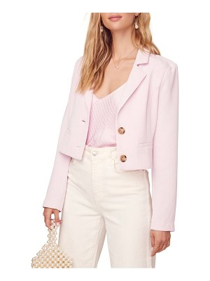 ASTR the Label karma crop blazer