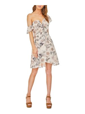 ASTR THE LABEL Libby One-Shoulder Dress
