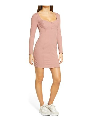 ASTR the Label long sleeve body-con dress