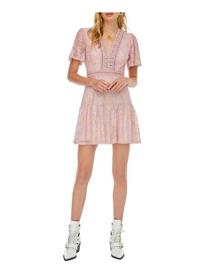 ASTR the Label muse lace skater dress