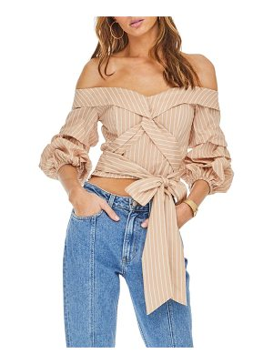 ASTR THE LABEL Off The Shoulder Top