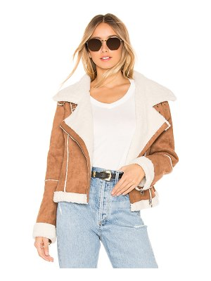 ASTR the Label quincy faux fur jacket
