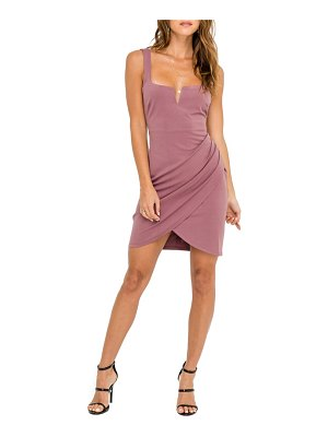 ASTR the Label ruched minidress
