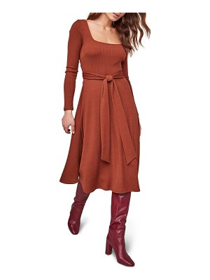 ASTR the Label sinclair midi dress