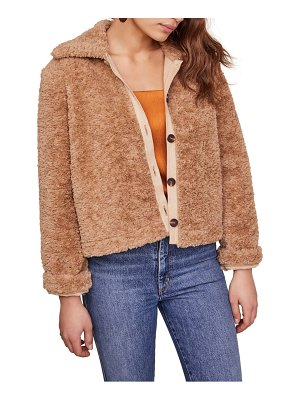 ASTR the Label teddi faux fur jacket