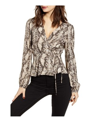 ASTR the Label wrap top