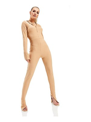 AsYou casual lounge jumpsuit in pink