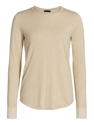 ATM Anthony Thomas Melillo cotton cashmere blend crew neck sweater