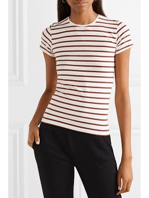 ATM Anthony Thomas Melillo striped stretch-pima cotton-jersey t-shirt