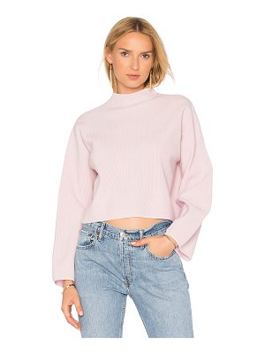 AUTUMN CASHMERE Boxy Wide Sleeve Sweater