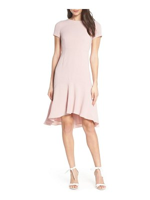 AVEC LES FILLES high/low sheath dress