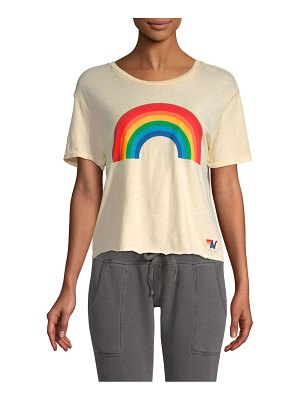 AVIATOR NATION rainbow boyfriend tee