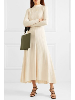 A.W.A.K.E. Mode renton ribbed-knit midi dress