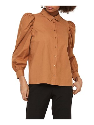 AWARE BY VERO MODA miriam organic cotton blouse