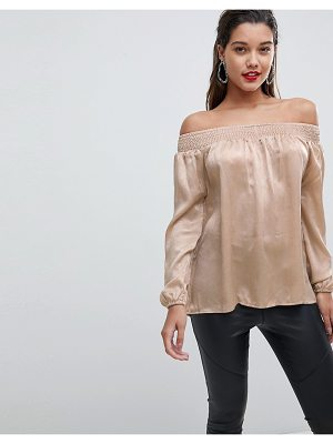 Ax Paris off the shoulder top
