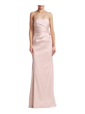 Badgley Mischka bow back gown