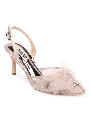 Badgley Mischka Collection badgley mischka angeline crystal embellished slingback pump