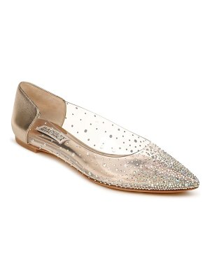 Badgley Mischka Collection badgley mischka gabi embellished pointed toe flat