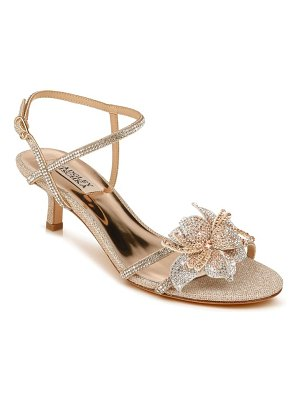 Badgley Mischka Collection badgley mischka gianna crystal embellished strappy sandal