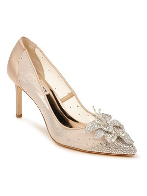 Badgley Mischka Collection badgley mischka gilda embellished pointed toe pump