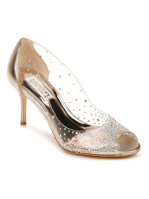 Badgley Mischka Collection badgley mischka ginata embellished peep toe pump