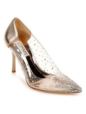 Badgley Mischka Collection badgley mischka gisela embellished pointed toe pump