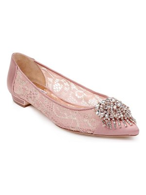 Badgley Mischka Collection badgley mischka lailah embellished skimmer flat