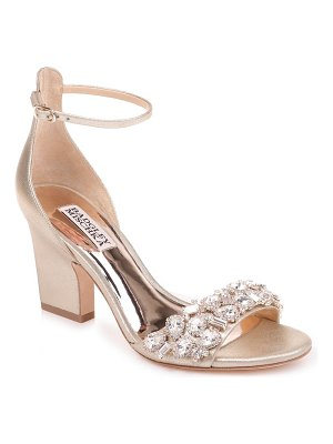 Badgley Mischka Collection badgley mischka laraine embellished ankle strap sandal