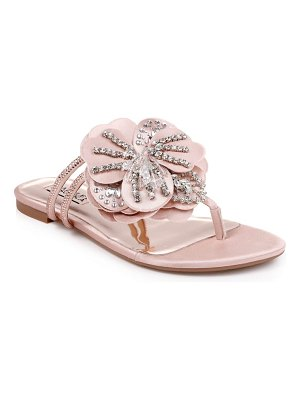Badgley Mischka Collection badgley mischka laurie embellished slide sandal
