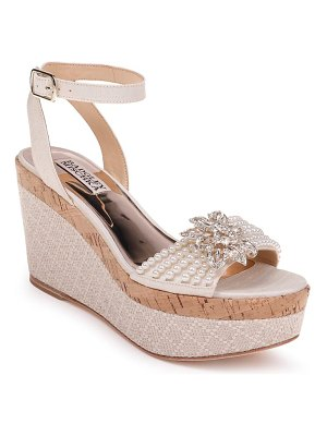 Badgley Mischka Collection badgley mischka leane wedge sandal