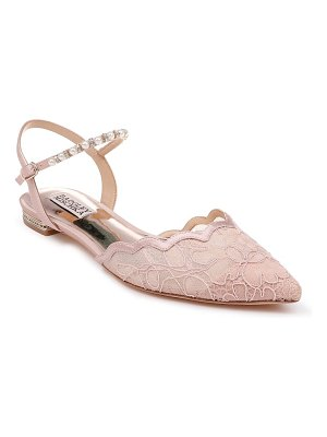 Badgley Mischka Collection badgley mischka lennon embellished skimmer flat