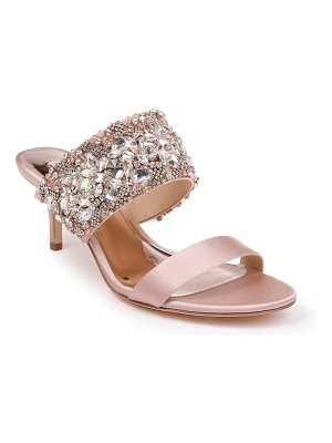 Badgley Mischka Collection badgley mischka linda embellished slide sandal