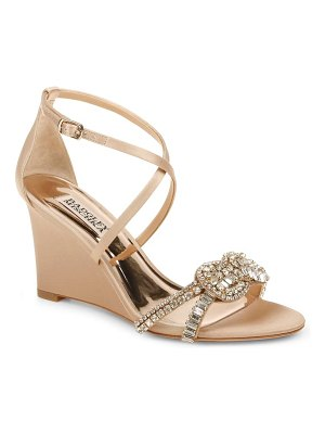 Badgley Mischka Collection badgley mischka zabrina wedge sandal