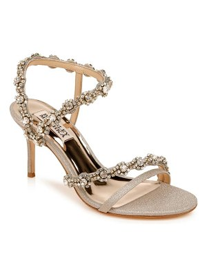 Badgley Mischka Collection badgley mischka zoe crystal embellished sandal