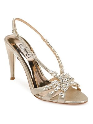 Badgley Mischka Collection jewel badgley mischka jacqueline crystal embellished sandal