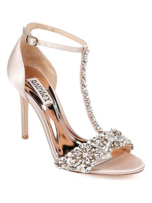 Badgley Mischka badgley mischka crystal embellished sandal