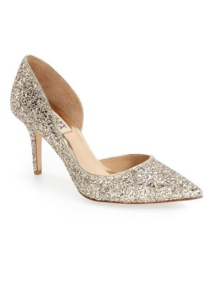 Badgley Mischka Collection badgley mischka 'daisy' embellished pointy toe pump