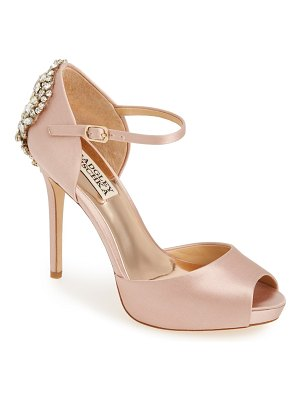 Badgley Mischka Collection badgley mischka 'dawn' crystal back d'orsay pump