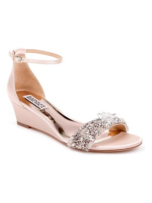 Badgley Mischka Collection badgley mischka fiery embellished ankle strap sandal
