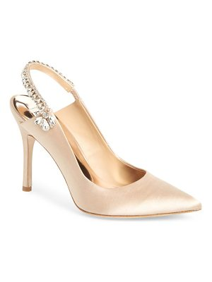 Badgley Mischka paxton pointy toe slingback pump
