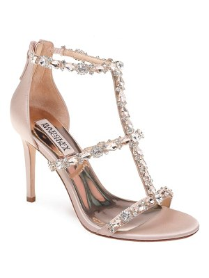 Badgley Mischka querida embellished sandal