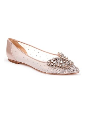 Badgley Mischka quinn flat