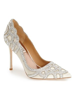 Badgley Mischka Collection badgley mischka 'rouge' pointy toe pump