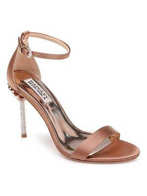 Badgley Mischka Collection badgley mischka vicia crystal embellished heel sandal