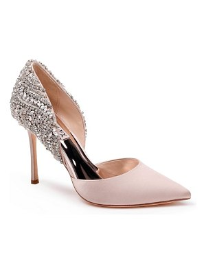 Badgley Mischka Collection badgley mischka volare crystal embellished d'orsay pump