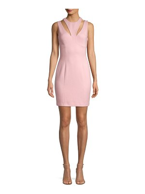 Bailey 44 deuce cut-out ponte bodycon dress