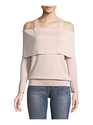 Bailey 44 Soulmate Cold-Shoulder Long-Sleeve Sweatshirt