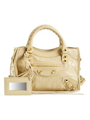 Balenciaga classic mini city leather satchel