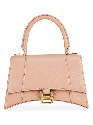 Balenciaga Hourglass Small Calfskin Satchel Bag