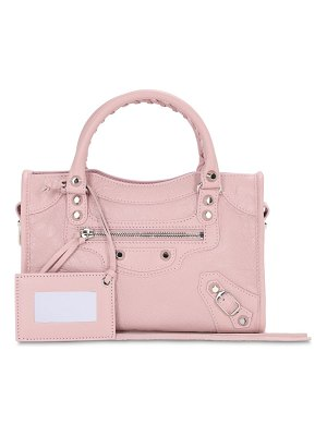 Balenciaga Mini classic city leather bag